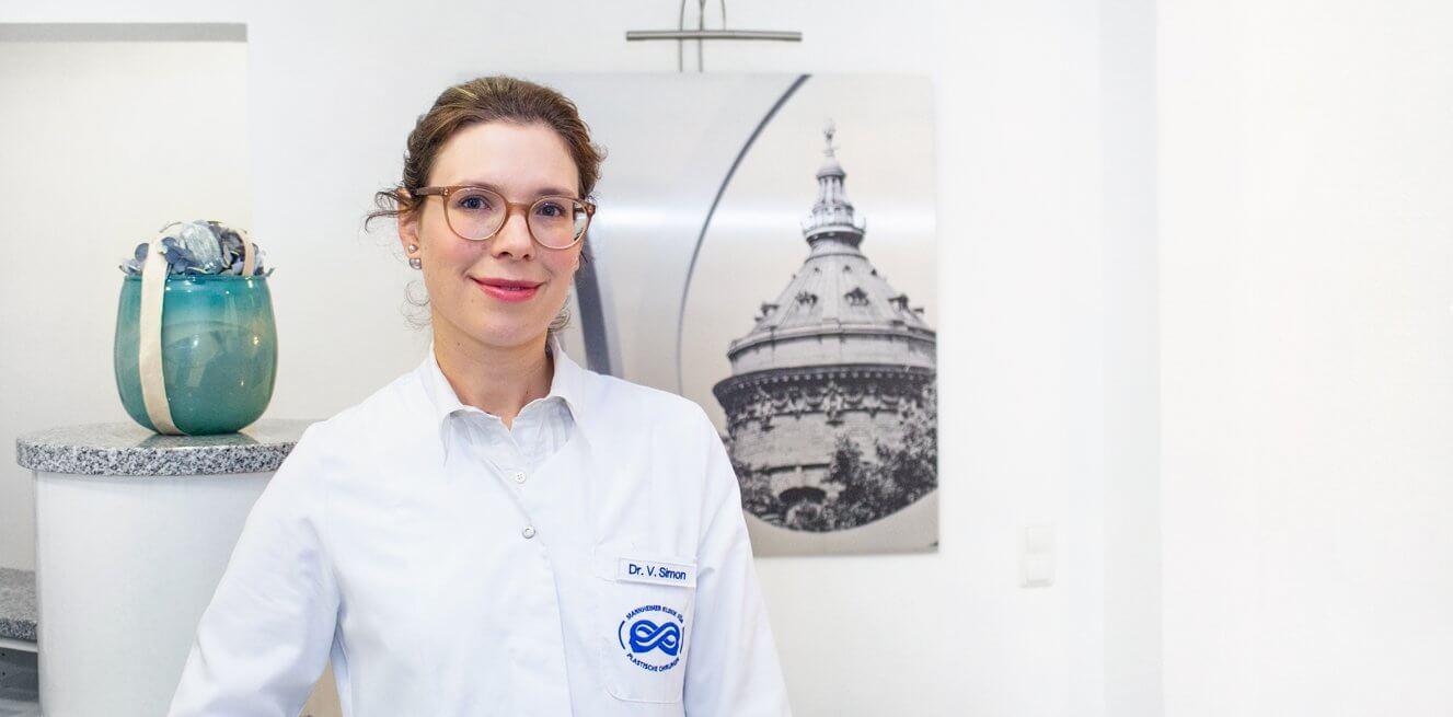 Dr. med. Vera Simon, Fachärztin für Dermatologie